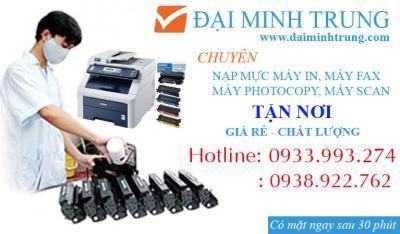 Bơm mực máy in - Sửa máy in chuyên nghiệp