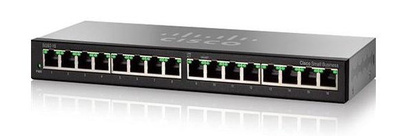 Cisco SG92-16 16-Port Gigabit Desktop Switch (SG92-16)