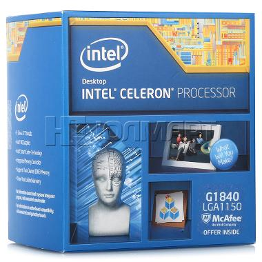 Intel Celeron Processor G1840  (2M Cache, 2.80 GHz)