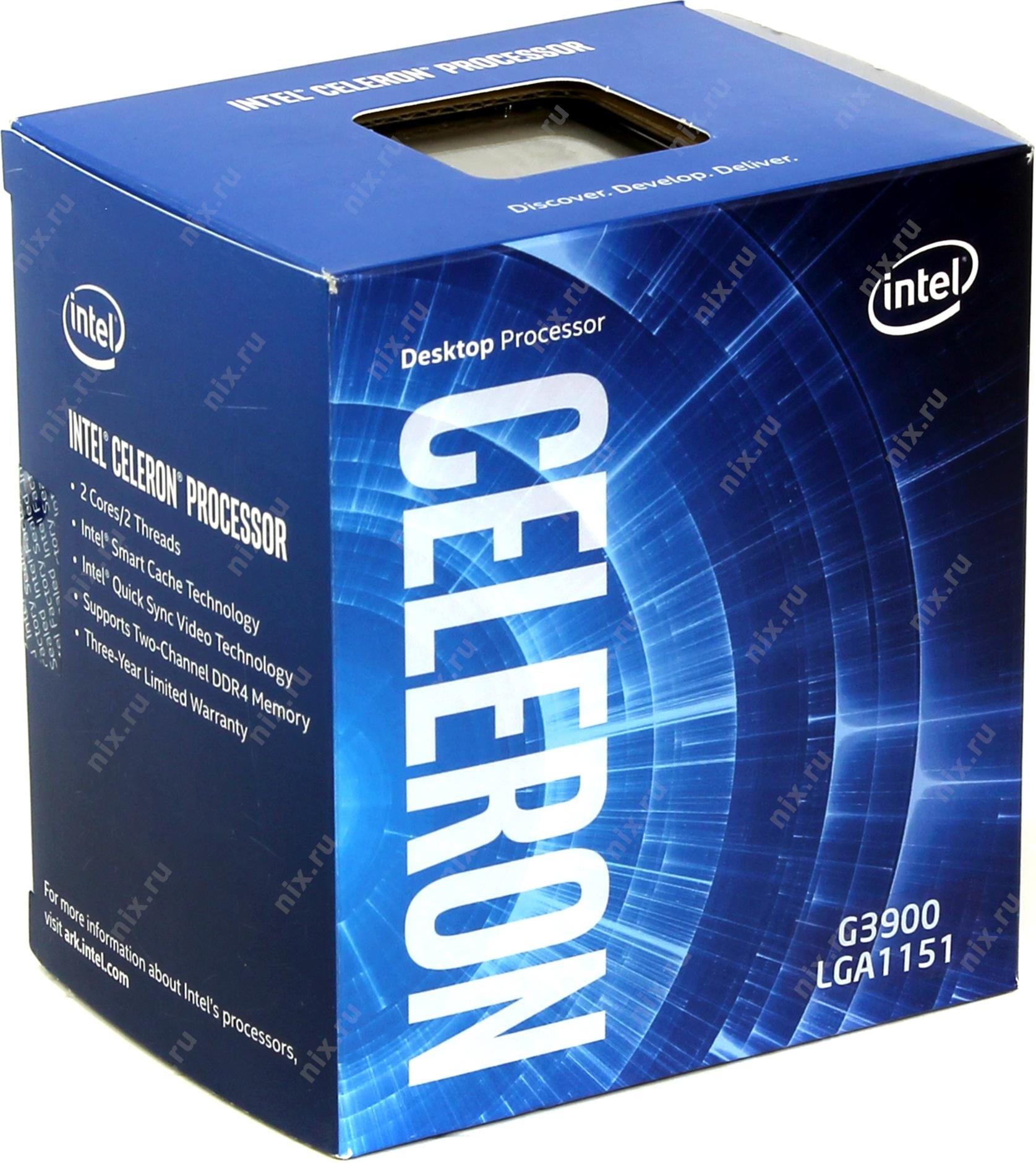 Intel Celeron Processor G3900  (2M Cache, 2.80 GHz)