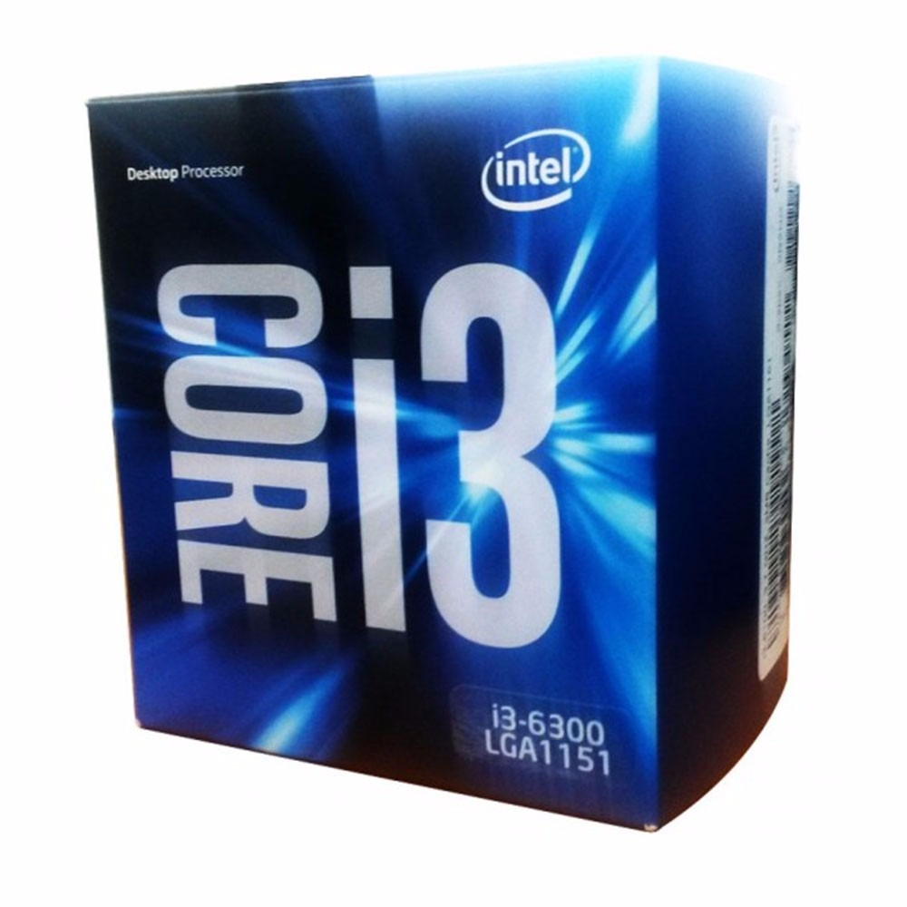 Intel Core i3-6300 Processor  (4M Cache, 3.80 GHz)