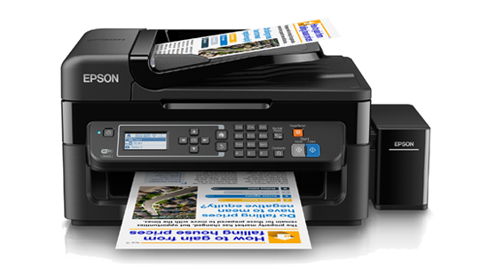 Máy in đa năng Epson L565, In, Scan, Copy, Fax, tiếp mực ngoài chính hãng