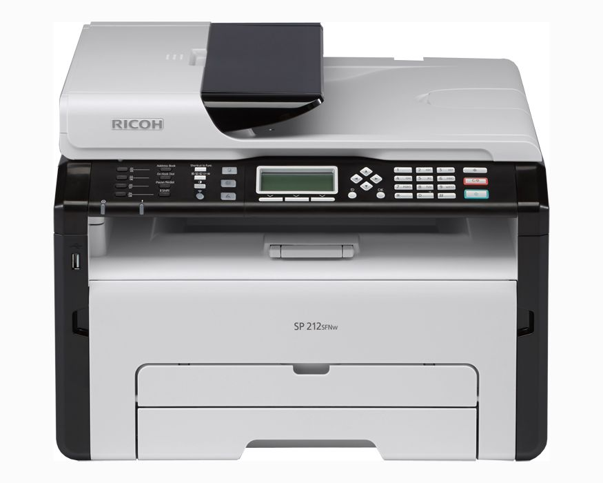 Máy in đa năng Wifi RICOH SP 212SFNW (Print / Copy / Scan / Fax)