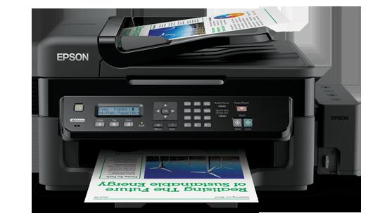 Máy in Epson L550 In, Scan, Copy, Fax, In phun màu chính hãng