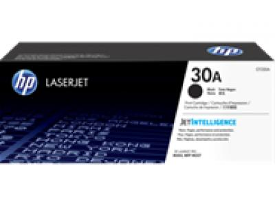 Mực in chính hãng HP 30A Black Original LaserJet Toner Cartridge (CF230A)