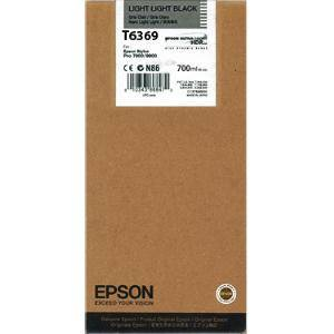 Mực in Epson T6369 Light Light Black ink cartridge (C13T636900)