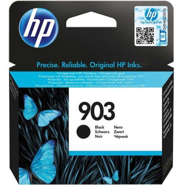 Mực in HP 903 Black Original Ink Cartridge (T6L99AE)