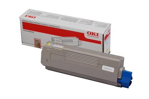 Mực in Oki C610Y Yellow Toner Cartridge