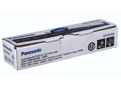 Mực in Panasonic KX FA76, Black Toner Cartridge