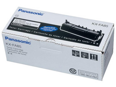 Mực in Panasonic KX FA85, Black Toner Cartridge