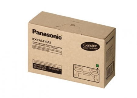 Mực in Panasonic KX FAT410, Black Toner Cartridge