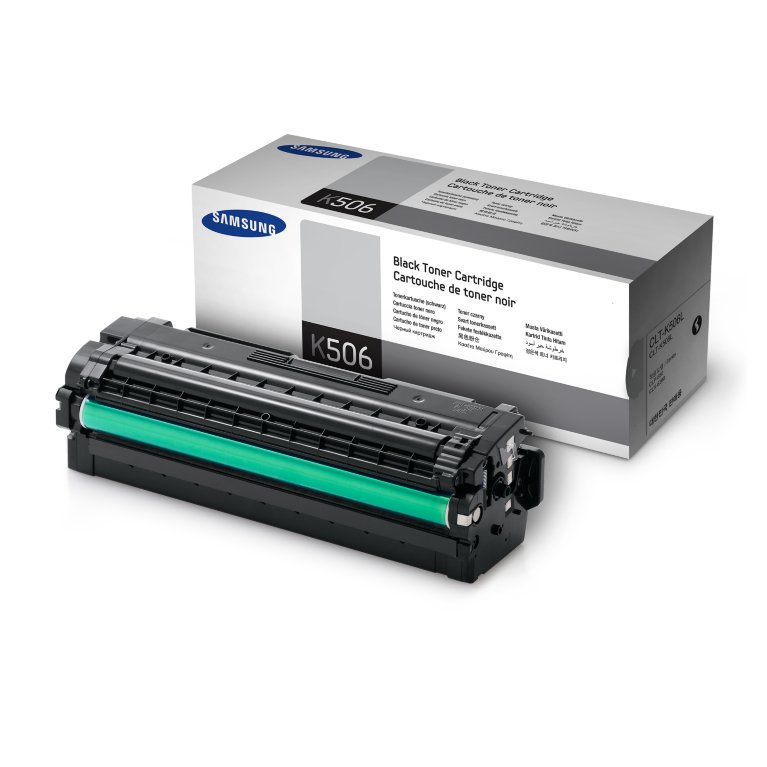 Mực in Samsung CLT-K506L Black Toner (6,000 pages)