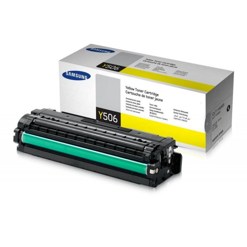 Mực in Samsung CLT-Y506S Yellow Toner (1,500 pages)