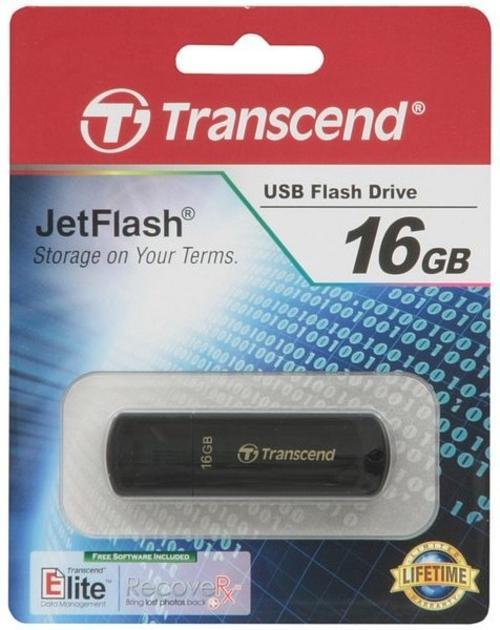 USB 16GB Transcend JetFlash 350 (TS16GJF350)