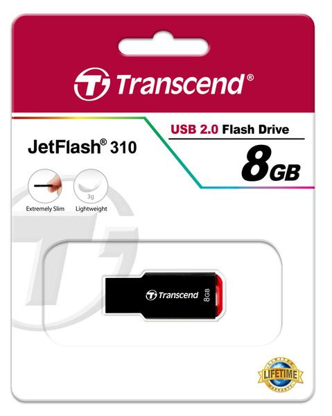 USB 8GB Transcend JetFlash 310 (TS8GJF310)