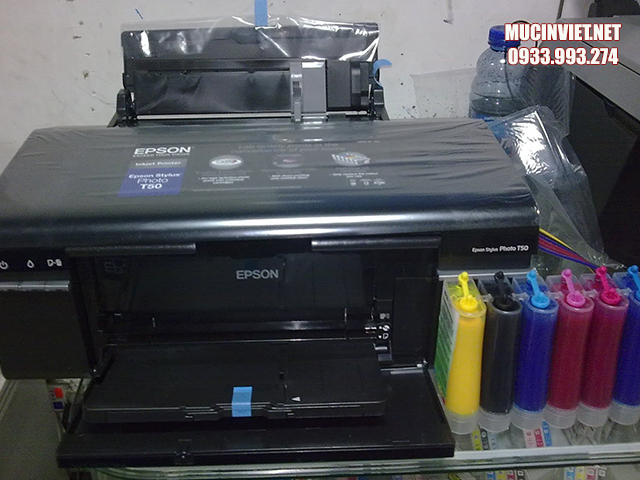 Những lưu ý quan trọng khi bơm mực cho máy in màu